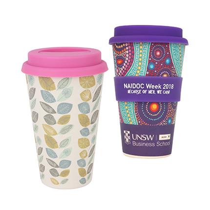 Bamboo Reusable Coffee Cup